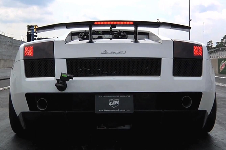 Underground Racing Lamborghini Gallardo Sets 8s 1/4 mi. World Record