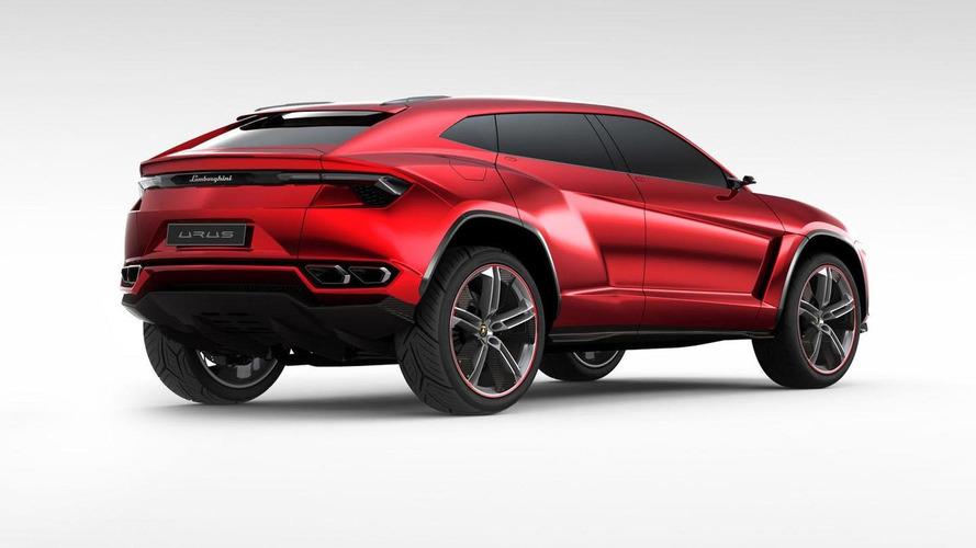 Lamborghini Urus concept officially unveiled