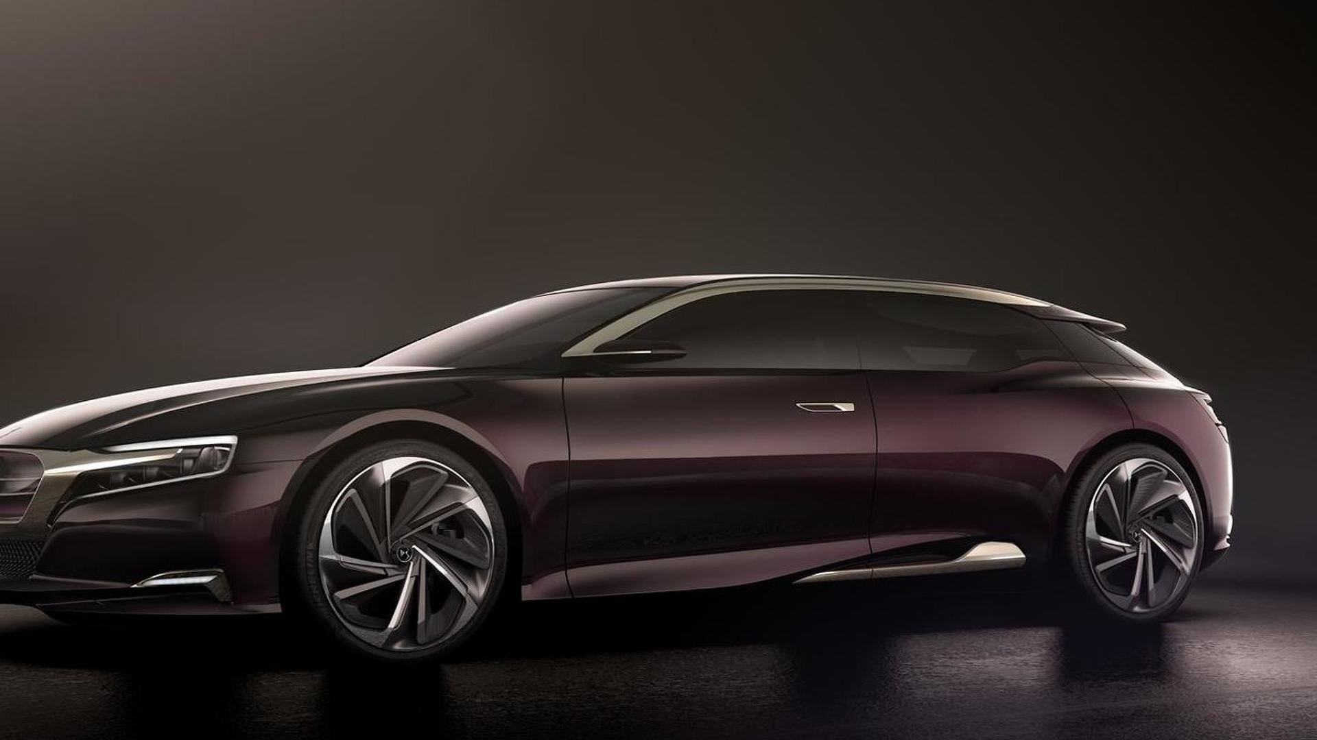 citroen ds6 to challenge the bmw 5 series mercedes e. Black Bedroom Furniture Sets. Home Design Ideas