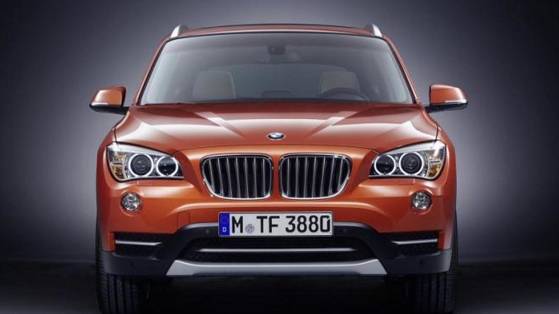 New 2013 BMW X1 facelift leaked