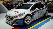 Peugeot 208 TYPE R5 rally car live in Paris 27.09.2012