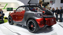 Smart Forstars concept live in Paris 27.09.2012