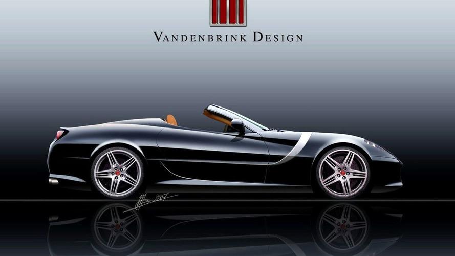 Vandenbrink Release GT Convertible Design Based Ferrari 599 GTB Fiorano