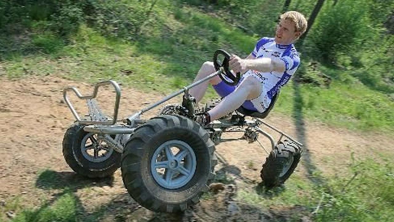 Вело трактор своими руками