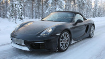 Porsche Boxster GTS & Cayman GTS spied cold weather testing