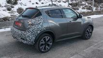Nissan Juke facelift spy photo