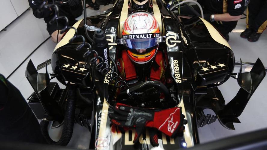 Grosjean plays down reports of 2014 Lotus car delay