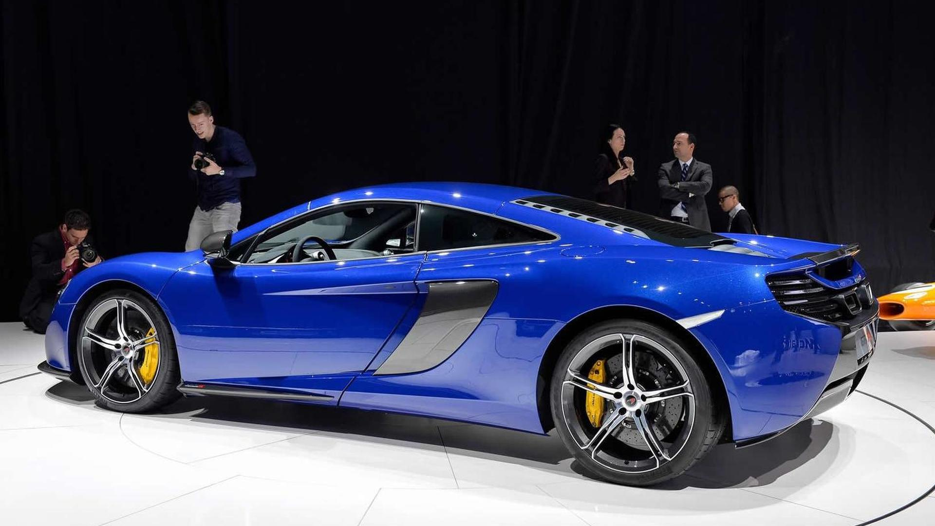 McLaren says they won't build an SUV/crossover