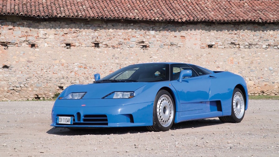 1994 Bugatti EB110 GT Auction