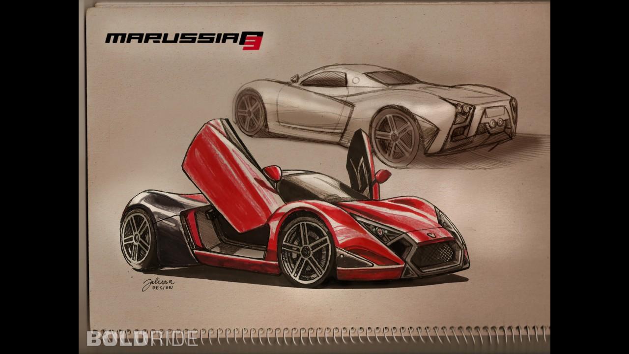 Marussia B3 Concept by Tamás Jakus