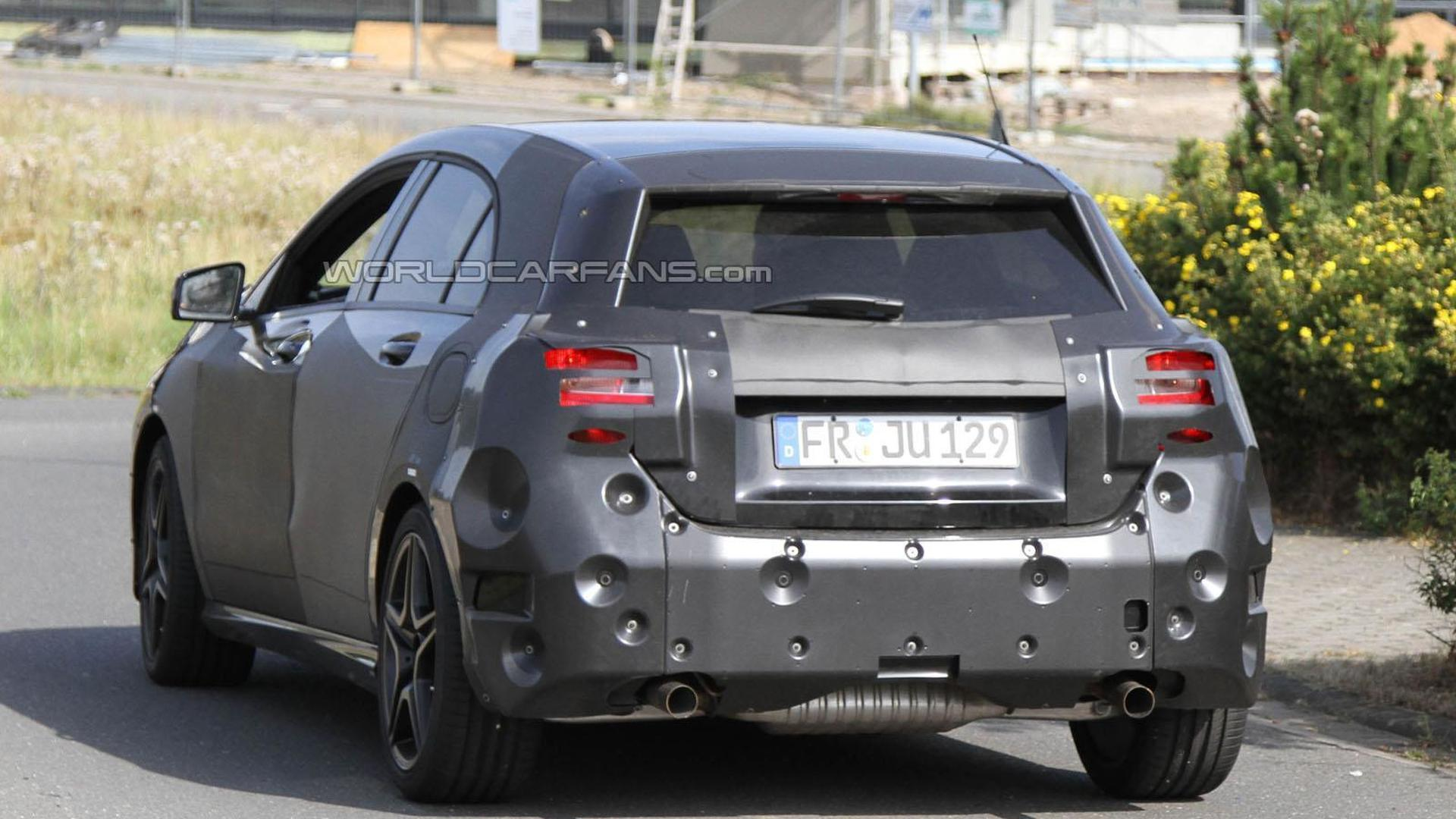 2013 Mercedes A-Class AMG spied for first time