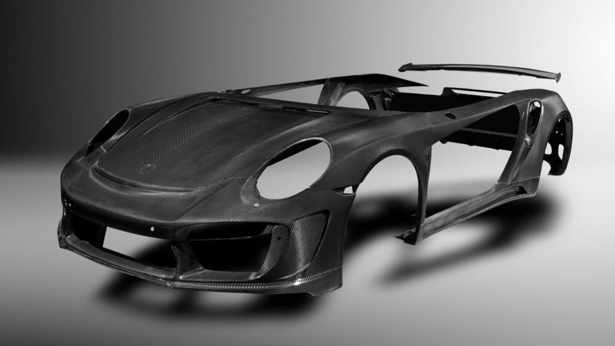 Tuner previews carbon fiber body for Porsche 911 Turbo