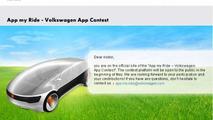 VW announces Open Innovation Contest, 'App My Ride'