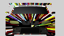 Jeff Koons design sketch for the 17th BMW Art Car, 2010 07.04.2010