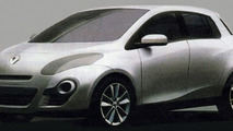 2012 Renault Clio Designs Leak