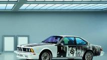 Robert Rauschenberg (USA) 1986 BMW 635 CSi art car