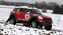 MINI ALL4 Racing Countryman for Dakar Rally 2011 by X-Raid 13.12.2010