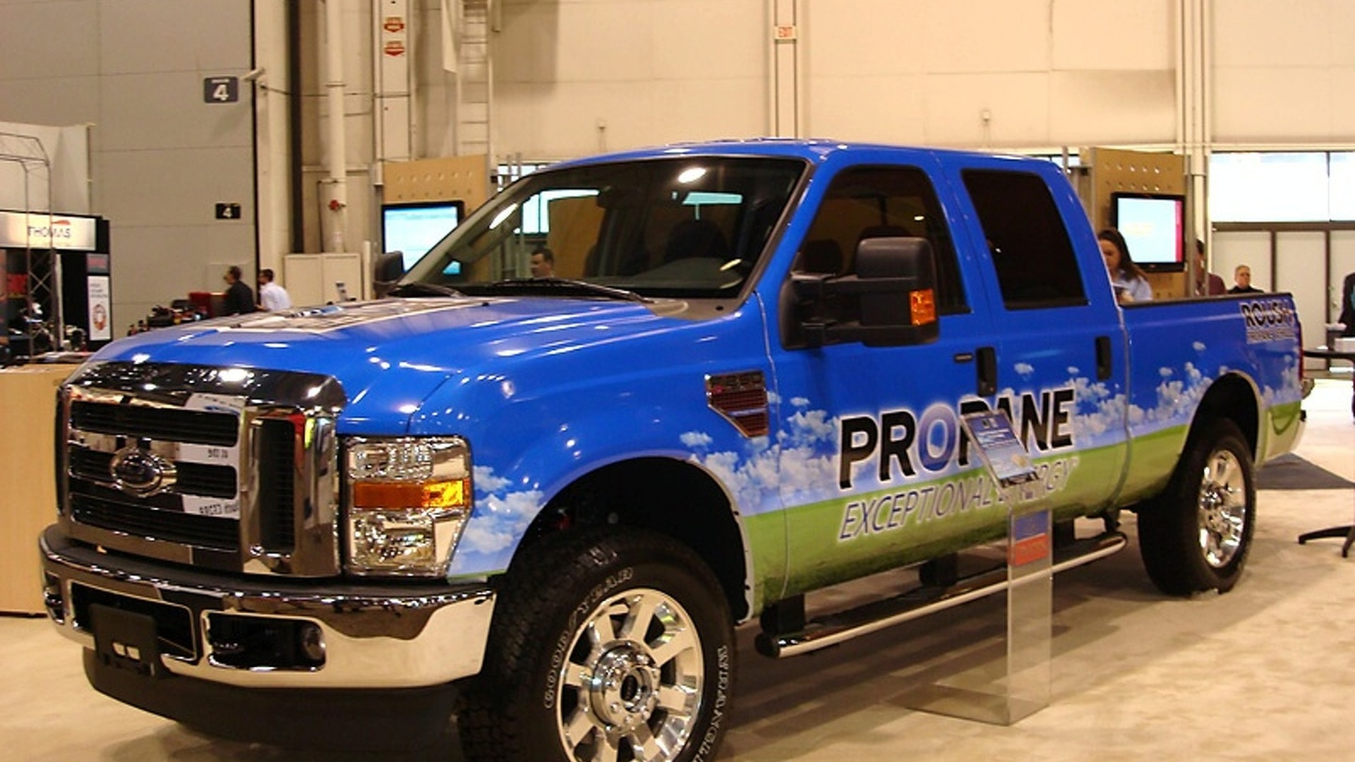 2010 ROUSH Liquid Propane Injected Ford F-250 Unveiled