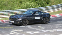 2012 Mercedes SLK spy photo at Nurburgring