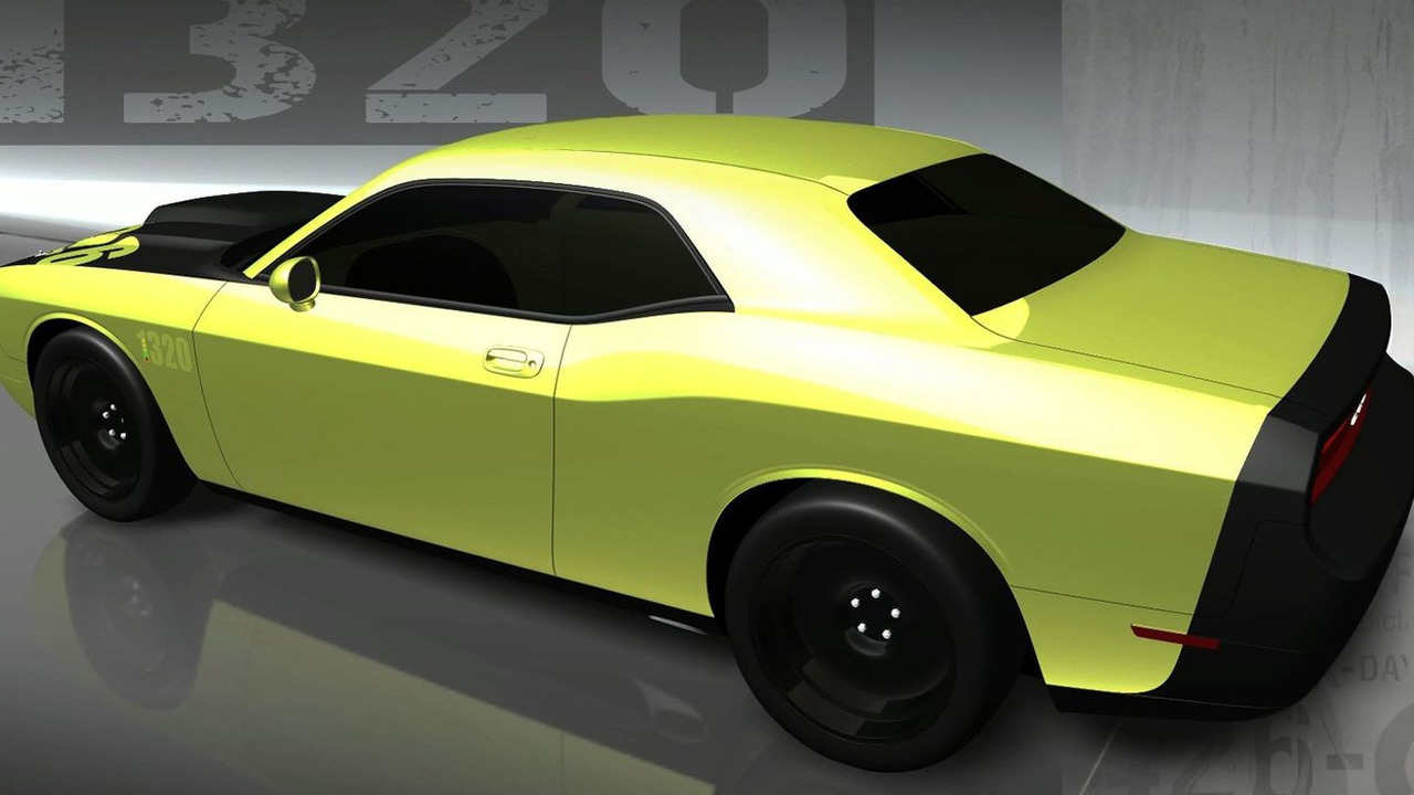 Mopar Dodge Challenger 1320. Named for the 1,320 feet in a quarter-mile drag strip.