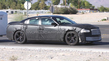 2011 Dodge Charger SRT8 spied showing it's nose