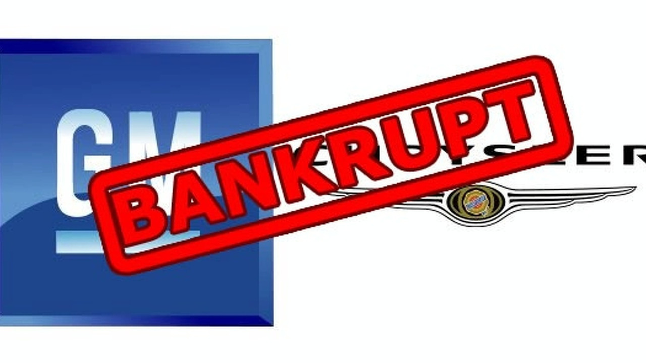 General Motors & Chrysler going Bankrupt