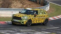 MINI Crossman Crossover Hits Nürburgring