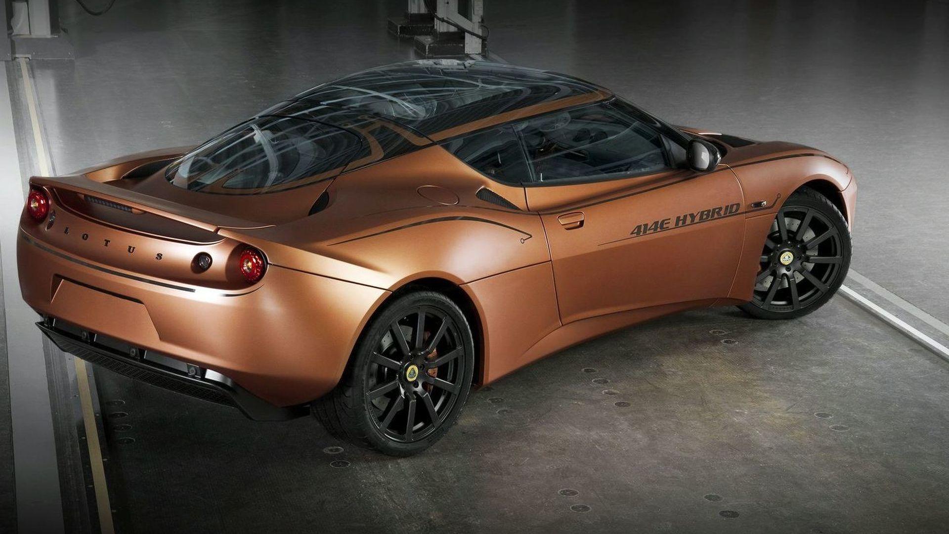Lotus Evora 414E Hybrid prototype coming to Goodwood