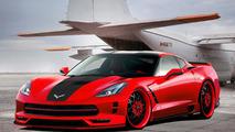 Chevrolet Corvette Stingray artist rendering 19.02.2013