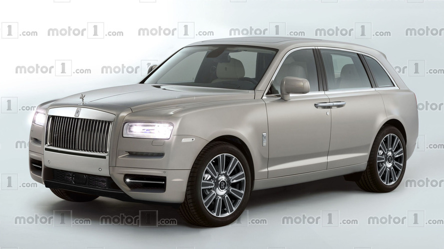 Rolls-Royce Cullinan render wants to steer you away from a Bentayga