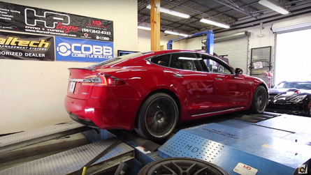 DragTimes straps Tesla Model S P100D with Ludicrous+ to dyno