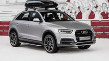 Audi shows off their Q3 offroad style package at Wörthersee