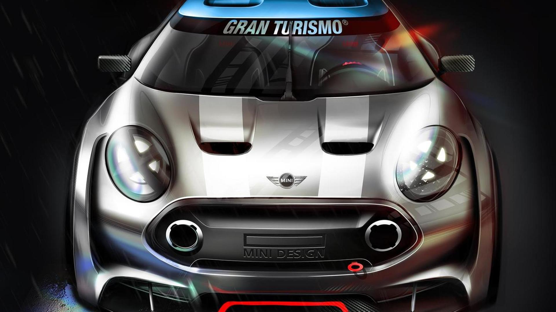 MINI Clubman Vision Gran Turismo officially unveiled