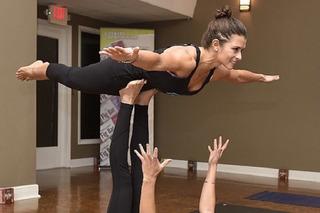 Danica Patrick Preps for Daytona 500 with Yoga