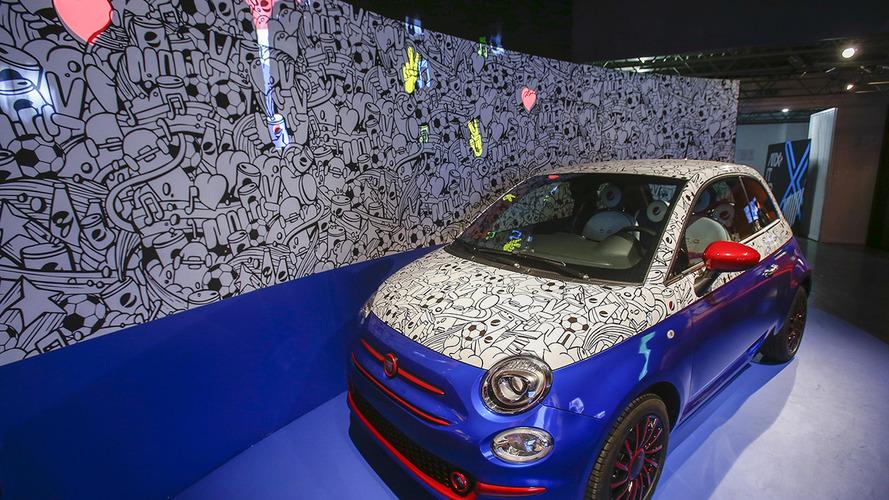 Fiat 500 Pepsi theme car revealed by Garage Italia Customs