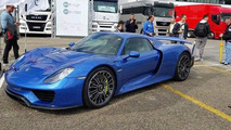 Horacio Pagani reportedly bought this Porsche 918 Spyder with Weissach Package