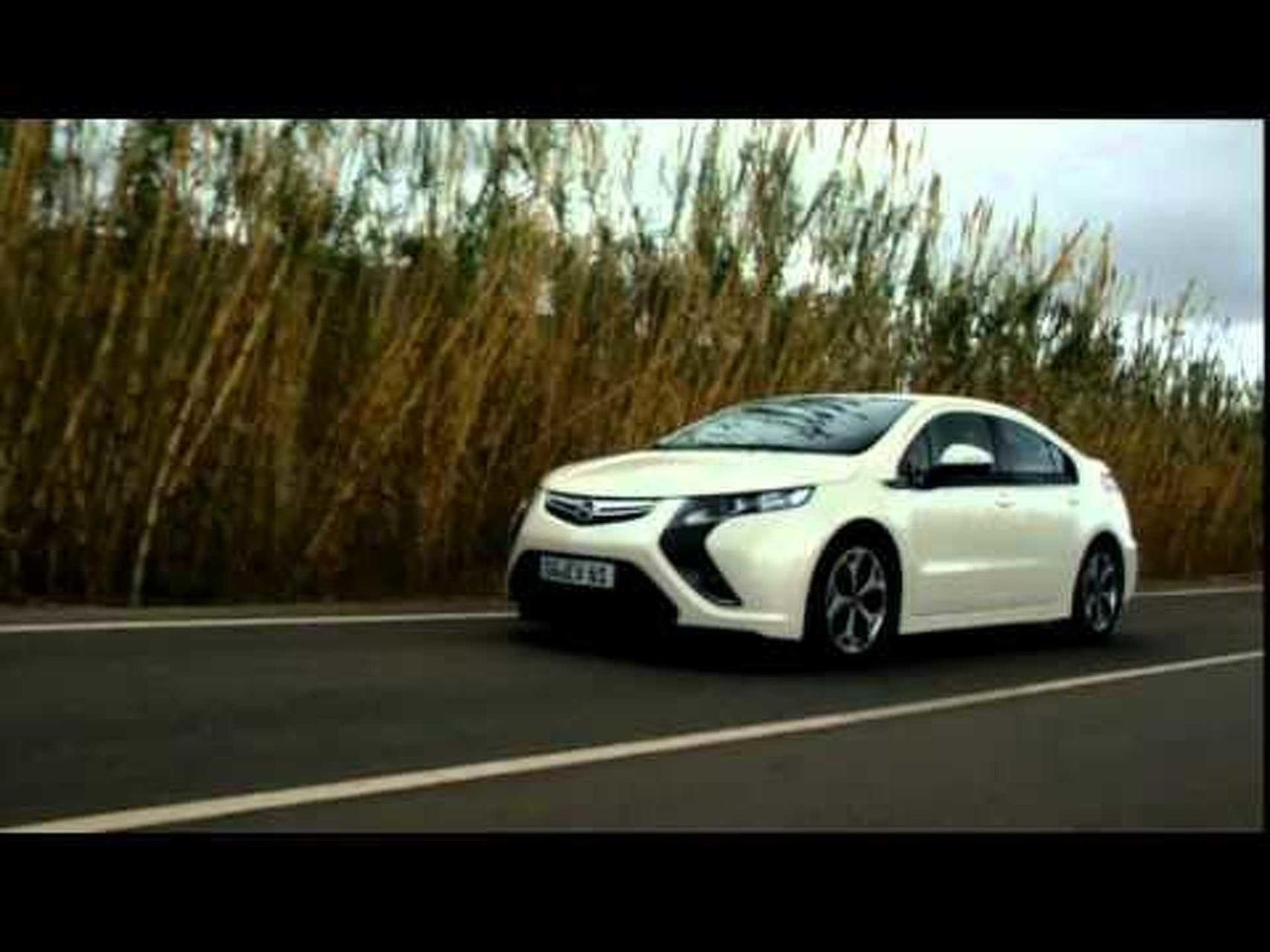 Opel Ampera Footage Part 2 of 2