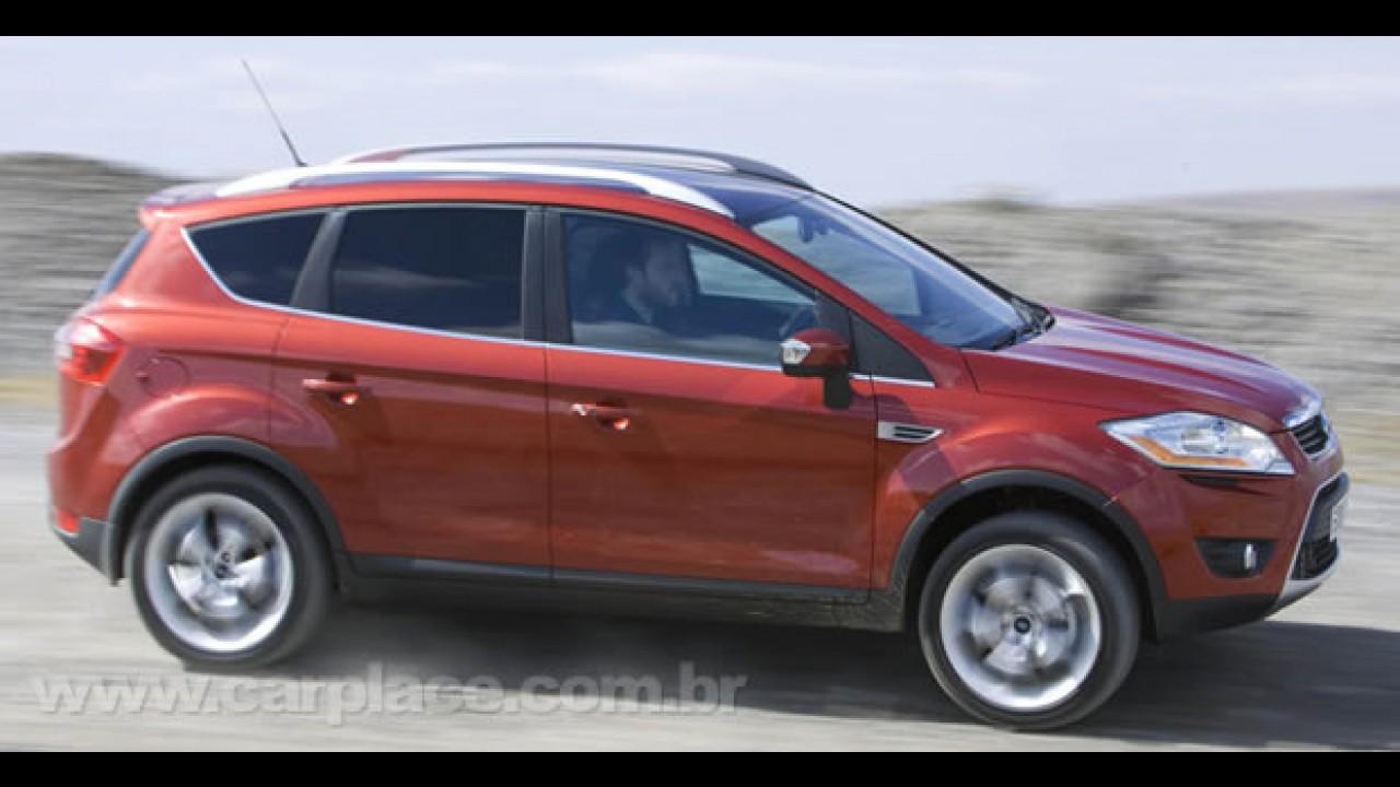 Revista diz que Novo Ecosport chega em 2012 com visual semelhante ao utilitário KUGA