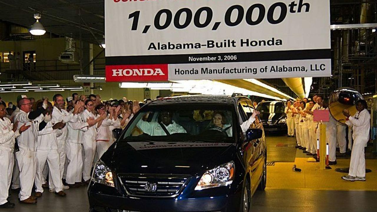 1 millionth Alabama-built Honda