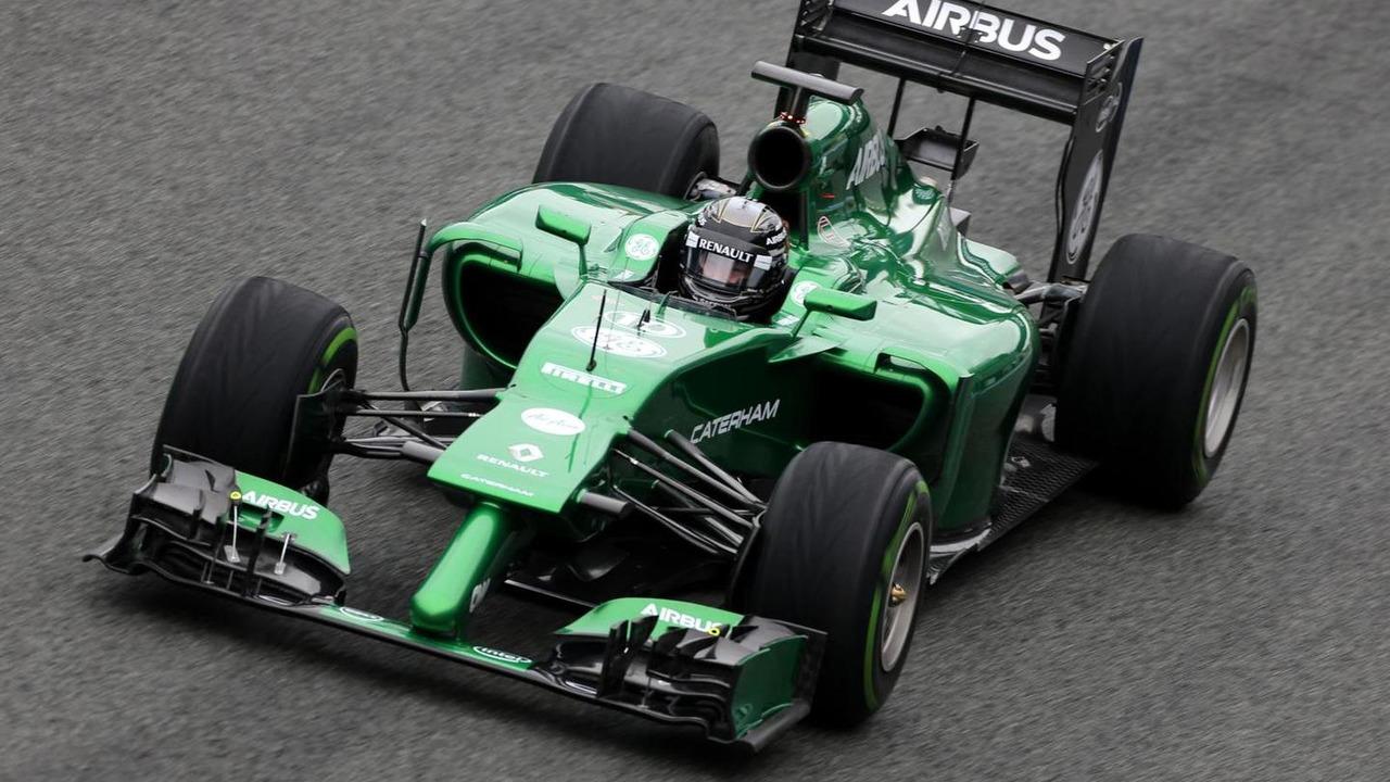 Kamui Kobayashi 31.01.2014 Formula One Testing Jerez Spain