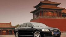 Audi A8 6.0 W12 in China