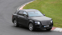 2016 Bentley crossover spied on the Nurburgring