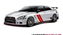 Nissan imagines Sentra 370Z Nismo and Maxima GT-R Nismo mashups