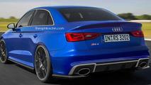 Audi RS3 Sedan render
