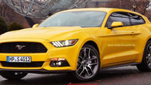 Ford Mustang GT Shooting Brake render