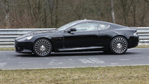Aston Martin DB9 successor test mule spy photo