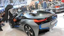 BMW i8 Concept Spyder live at Auto China 24.4.2012