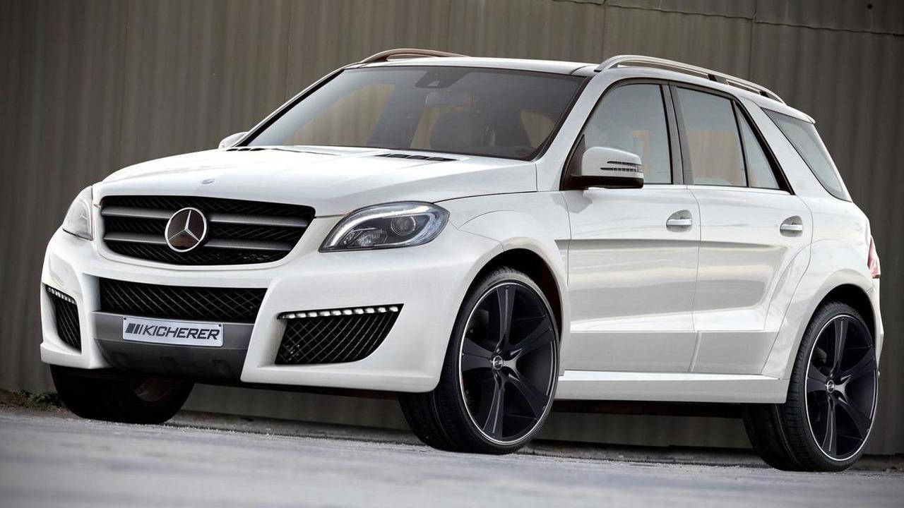 Mercedes M-Class by Kicherer 13.4.2012