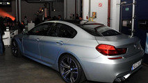 BMW M6 GranCoupe caught at private unveiling
