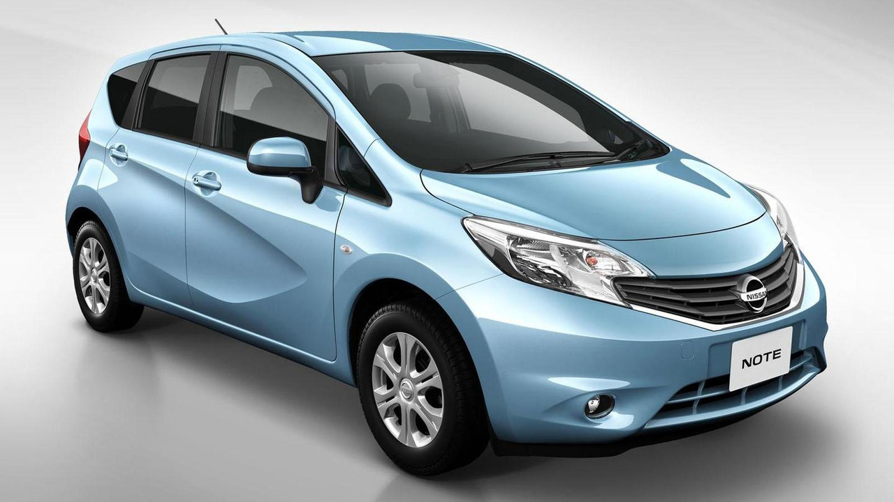 2013 Nissan Note JDM-spec 16.7.2012